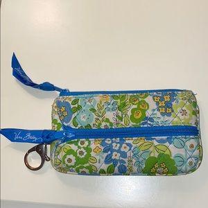 Vera Bradley wallet/change key chain